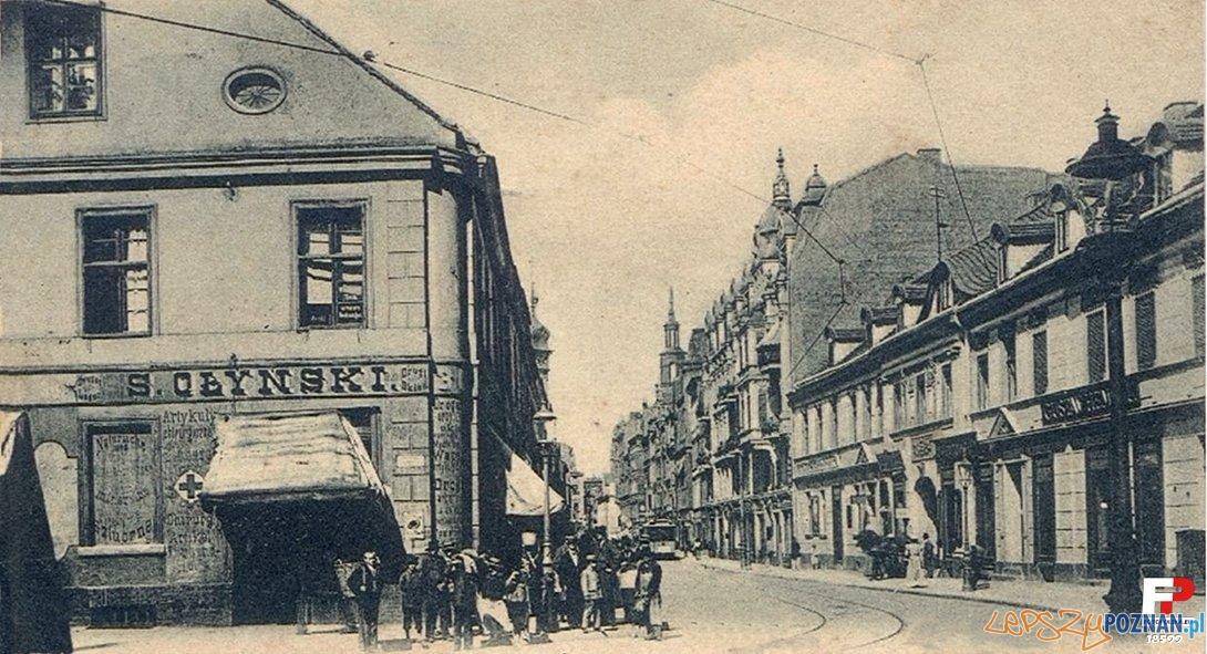 Wrocławska i Hotel Saski, początek XX wieku Foto: fotopolska