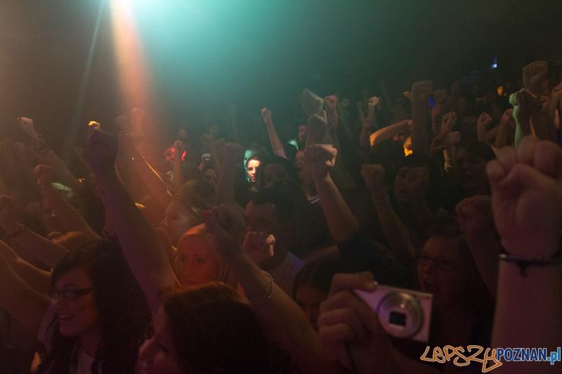 """Kamil Benarek koncert w klubie """"U Bazyla"""" - 16.11.2012 r.  Foto: lepszyPOZNAN.pl / Piotr Rychter"""