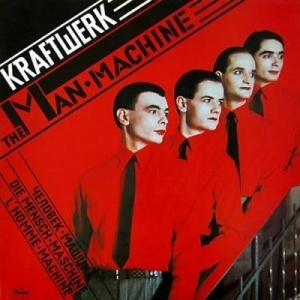 Kraftwerk okładka albumu The Man Machine