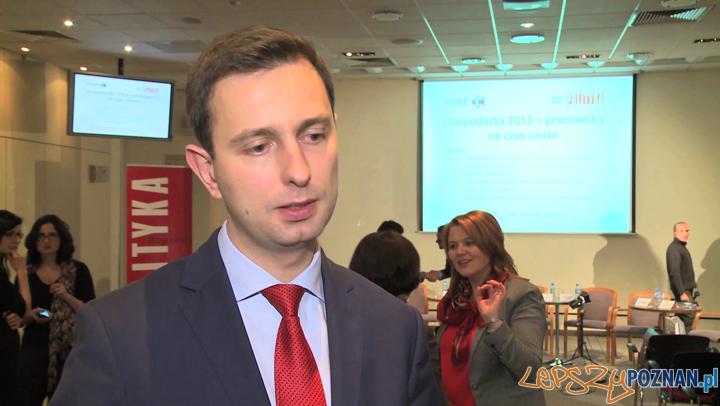 Władysław Kosiniak-Kamysz, minister pracy i polityki społecznej Foto: newseria