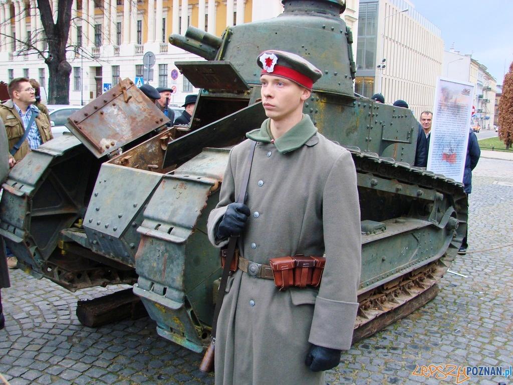 Obchody 94 rocznicy wybuchu Powstania Wielkopolskiego 1918 roku  Foto: lepszyPOZNAN.pl / ag