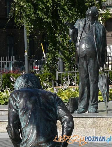 Fragment fontanny na skwerze im. profesora Zakrzewskiego Foto: wikipedia.pl