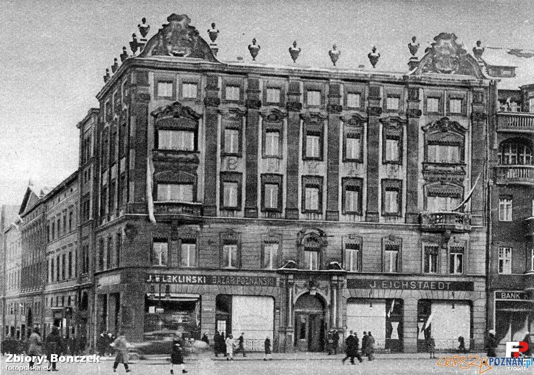 Hotel Bazar w roku 1928 Foto: fotopolska