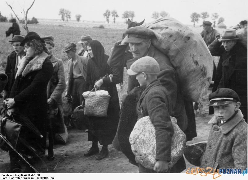 Wysiedlenia polskich rodzin z Czerniejewa w Kraju Warty Foto: wikipedia