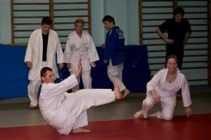 Zajęcia judo dla dorosłych w PKS OLIMPIA Foto: Tomek Szwajkowski