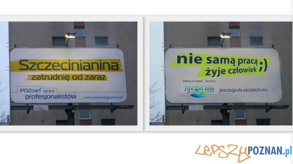 Kampania Poznan daje prace  Foto: facebook.com/szczecin.eu