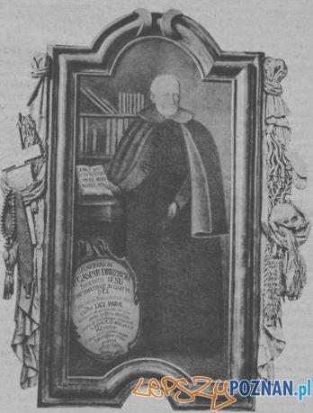 Kasper Drużbicki Foto: Obraz w farze poznańskiej, za Przewodnik Katolicki 7.11.1915
