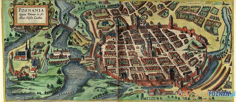 Widoku miasta Brauna i Hogenberga z 1618 roku Foto: cc
