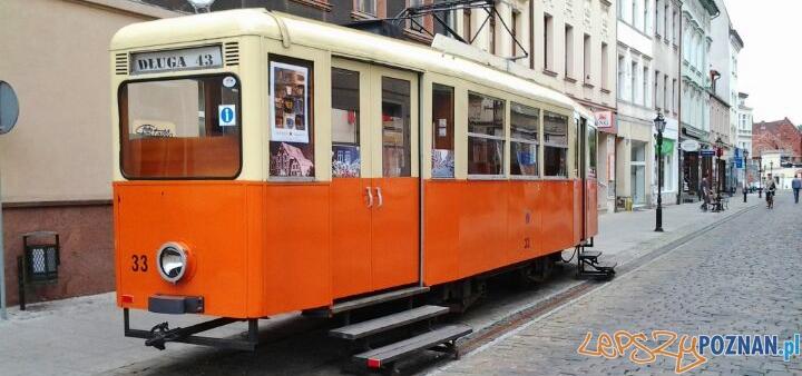 Bydgoska galeria i informacja turystyczna w tramwaju Foto: lepszyPOZNAN.pl / tab 10.1