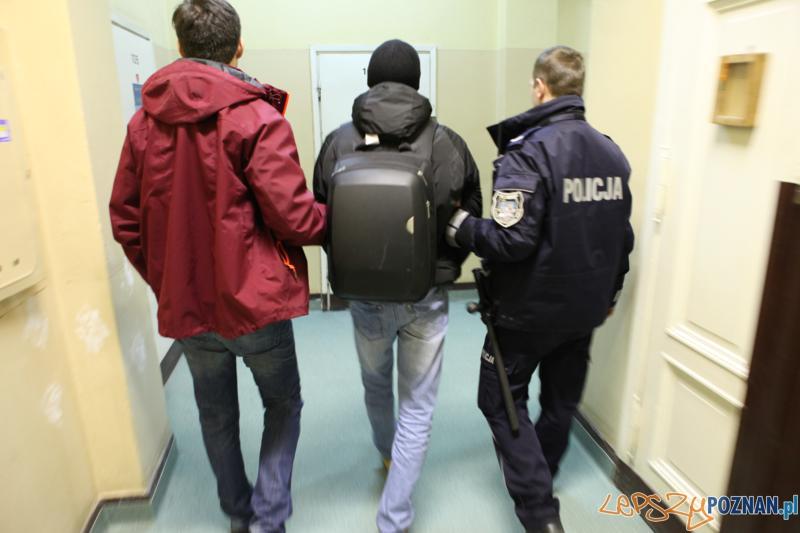 Sprawcy skoku na jubilera w rękach poznańskiej policji  Foto: Komenda Wojewódzka Policji w Poznaniu