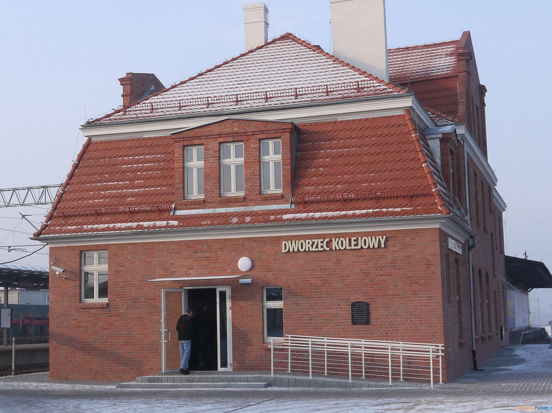 Nowy dworzec PKP w Swarzędzu   Foto: