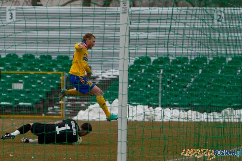 Inauguracyjny mecz rundy wiosennej Warta Poznań - Arka Gdynia  Foto: Ewelina Gutowska