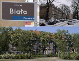 Ulica Biała na Łazarzu Foto: Janusz Ludwiczak/Lazarz.pl