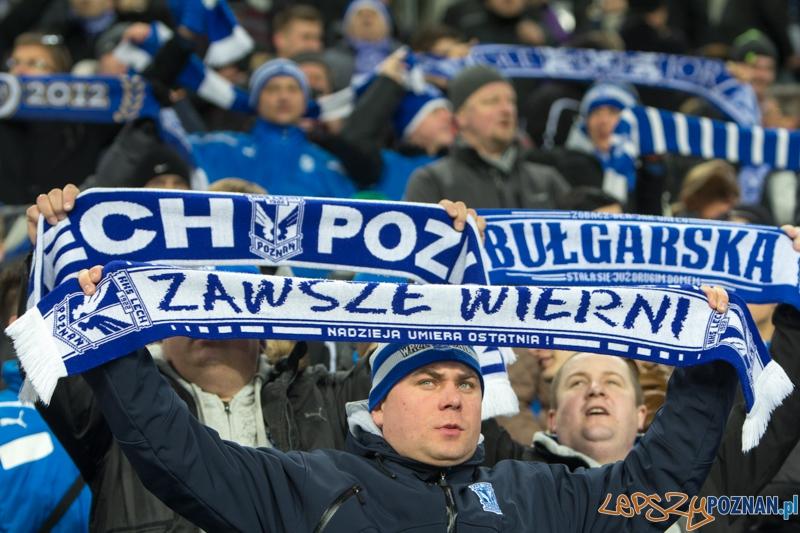 17. kolejka T-Mobile Extraklasy - Lech Poznań - Polonia Warszawa - najlepsi kibice  Foto: lepszyPOZNAN.pl / Piotr Rychter