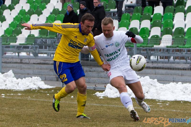 18. kolejka I ligi - Warta Poznań - Arka Gdynia (Tomasz Magdziarz, Damian Krajanowski)  Foto: lepszyPOZNAN.pl / Piotr Rychter