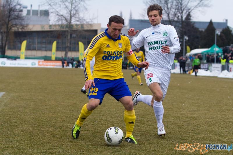 18. kolejka I ligi - Warta Poznań - Arka Gdynia  (Adam Gajda, Damian Krajanowski)  Foto: lepszyPOZNAN.pl / Piotr Rychter