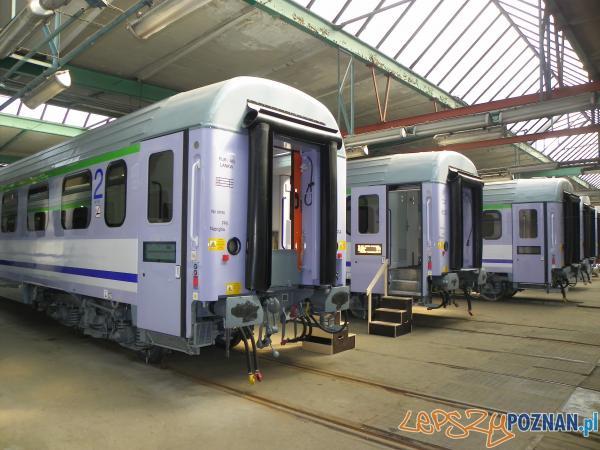 Cegielski modernizuje wagony PKP  Foto: materiały prasowe PKP