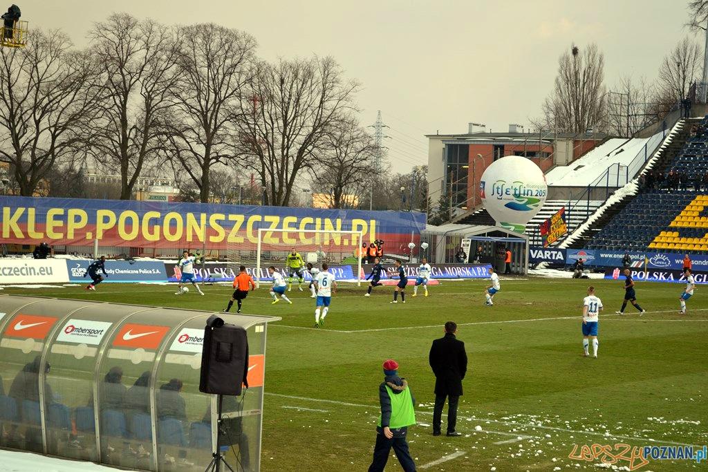 Pogoń Szczecin - Lech Poznań 0:2, 1.04.2013  Foto: lepszyPOZNAN.pl / Krzysztof Matusiak
