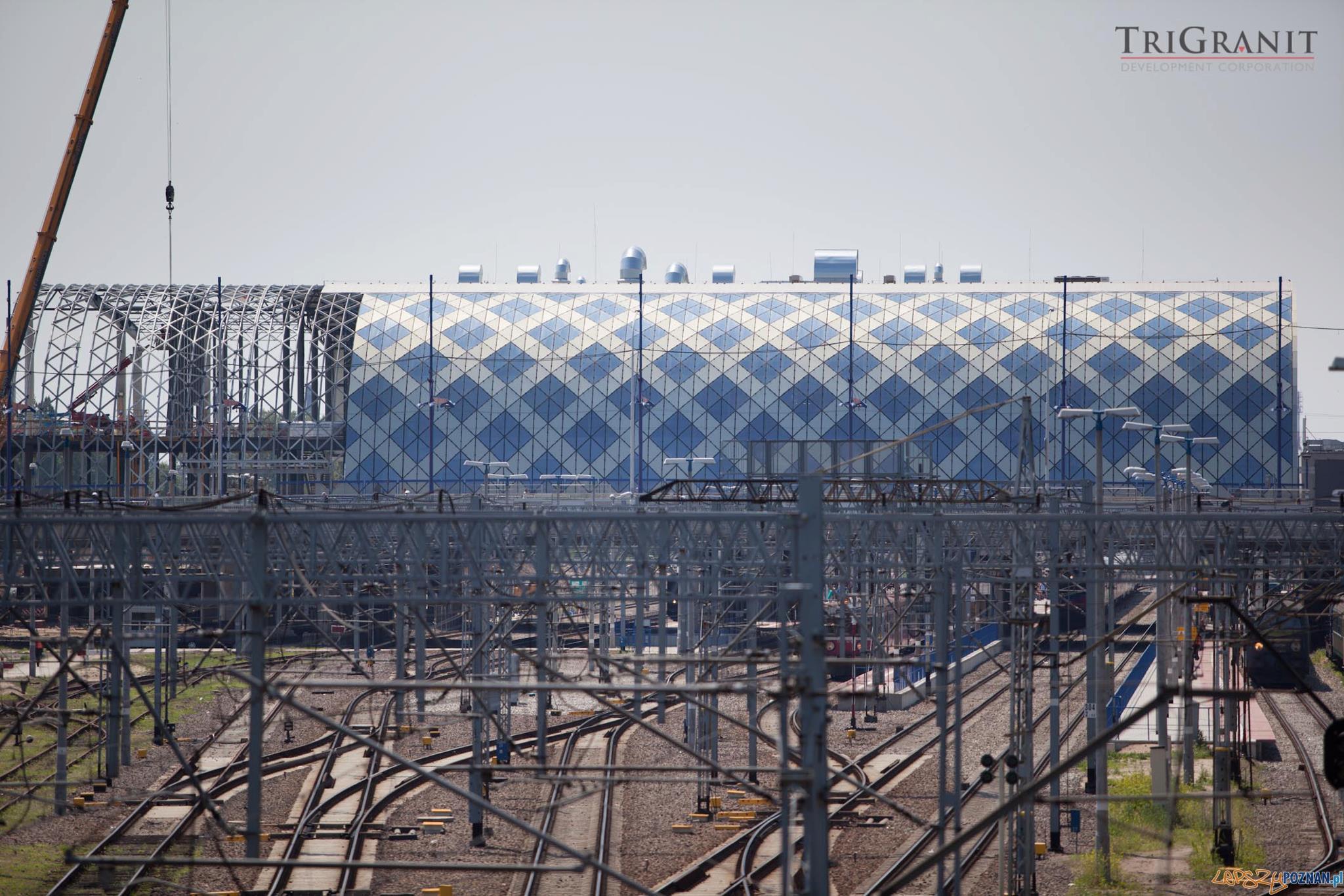 Nowy dworzec PKP Foto: Trigranit