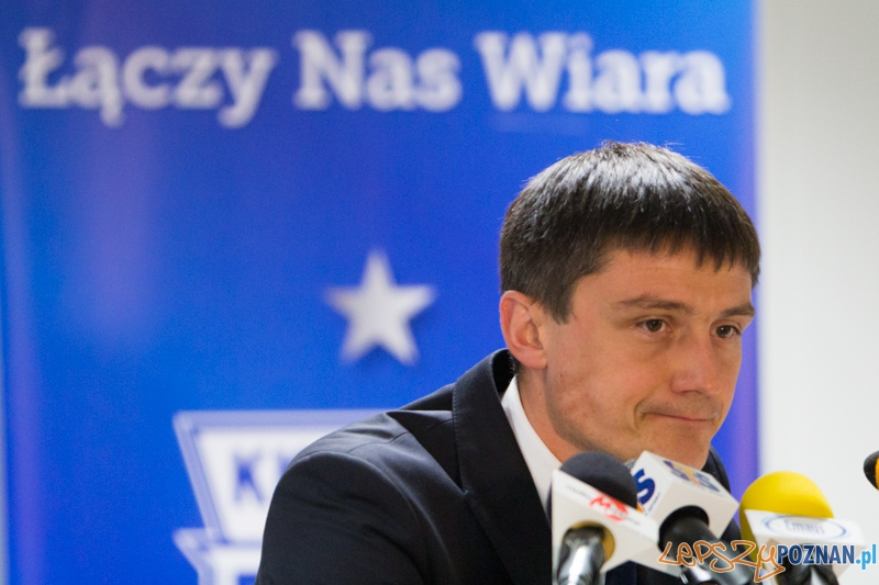 25. kolejka T-Mobile Ekstraklasy - trener Mariusz Rumak  Foto: lepszyPOZNAN.pl / Piotr Rychter