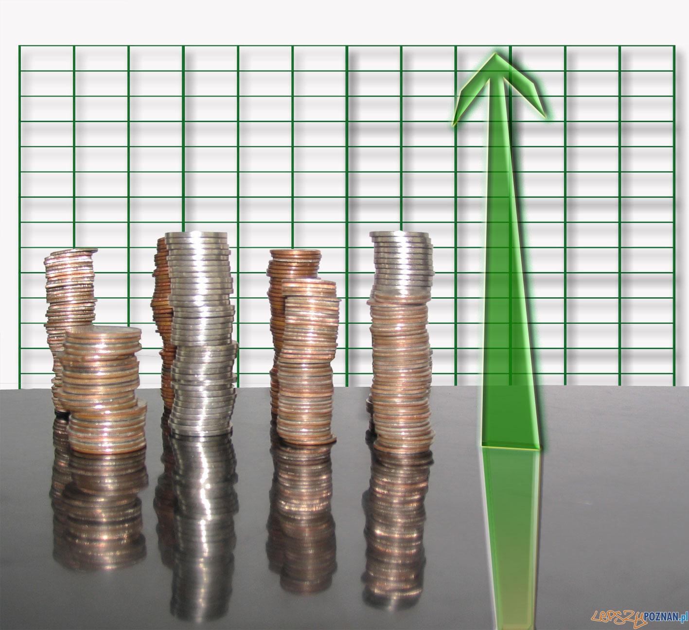 pieniądze, fundusze, wzrost