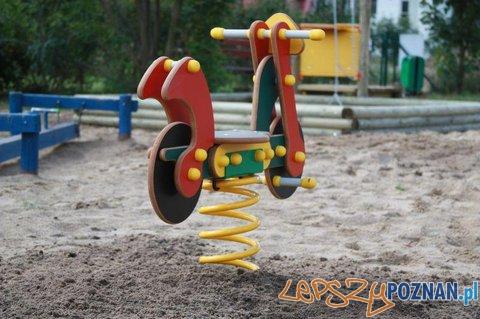 Plac zabaw na Strzeszynie  Foto: Stowarzyszenie Strzeszyn dla Dzieci