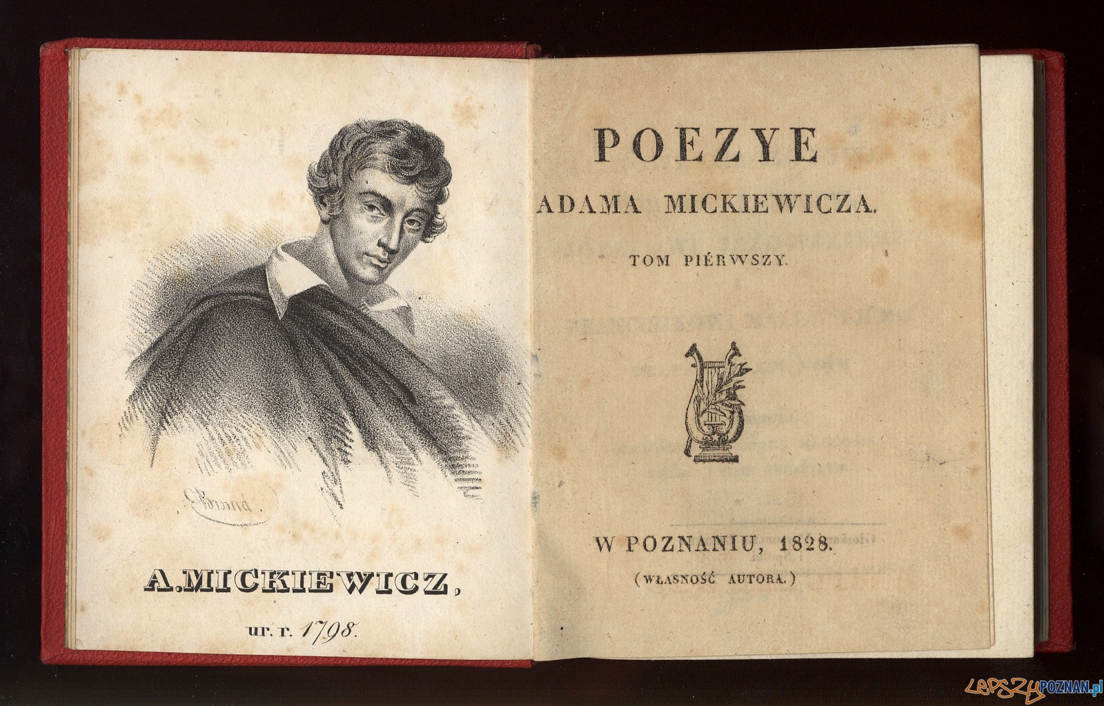 Poezye Adama Mickiewicza Foto: The European Library
