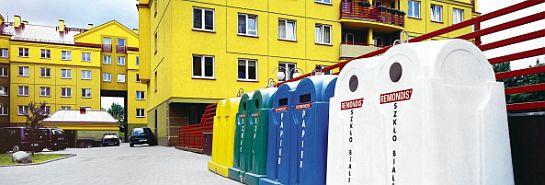pojemniki do zbiórki selektywnej Foto: Remondis Sanitech