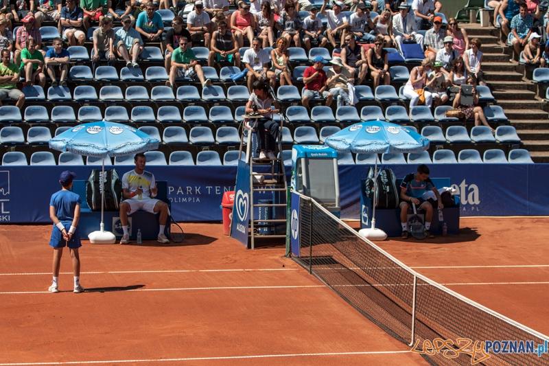 Finałowy pojedynek Poznań Open - Andreas Haider-Maurer - Damir  Foto: LepszyPOZNAN.pl / Paweł Rychter