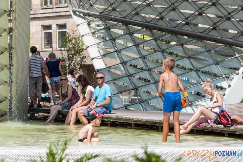 Upalne dni - jak sobie radzić w mieście?  Foto: LepszyPOZNAN.pl / Paweł Rychter