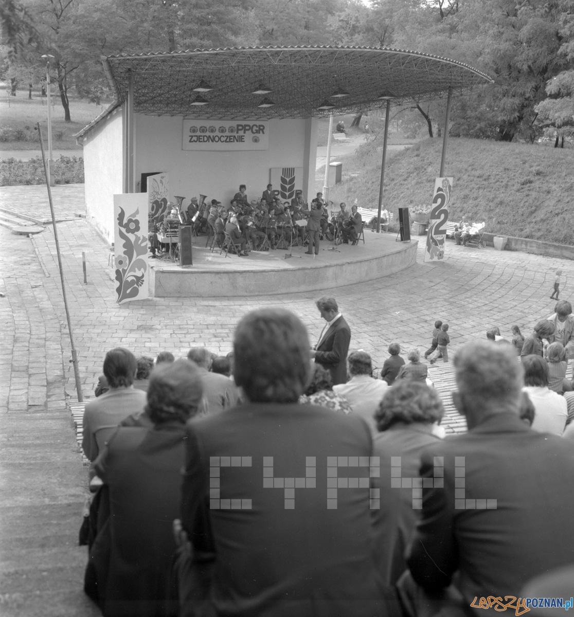 Amfiteatr w Parku Tysiąclecia 21.07.1978