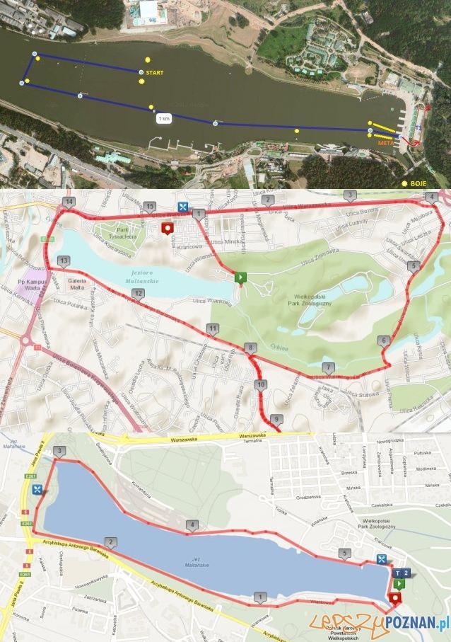 Mapa triathlonu  Foto: