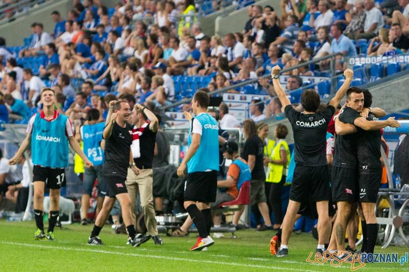 2. kolejka T-Mobile Ekstraklasy Lech Poznań - Cracovia Kraków. Inea Stadion 27.07.2013 r.  Foto: lepszyPOZNAN.pl / Piotr Rychter