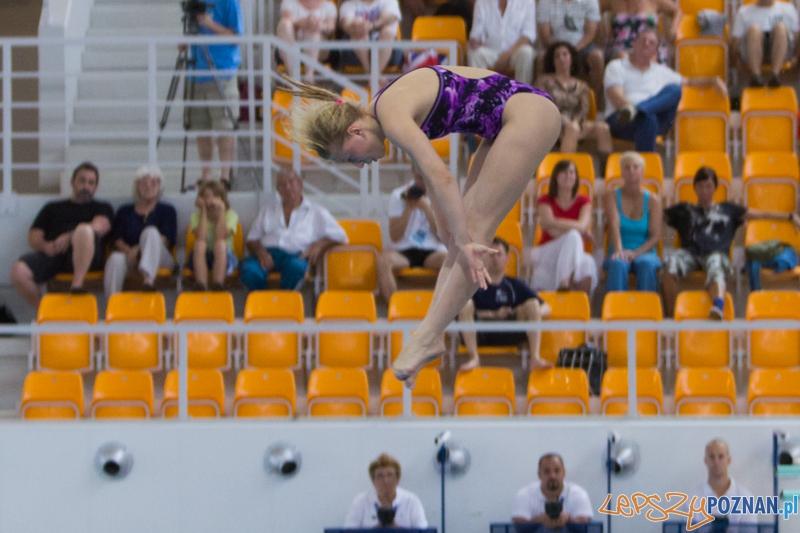 Mistrzostwa Europy Juniorów w Skokach do wody (skoki z wieży) - Termy Maltańskie   Foto: lepszyPOZNAN.pl / Piotr Rychter