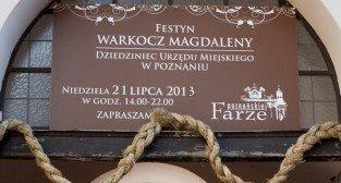Festyn Warkocz Magdaleny - dziedziniec Urzędu Miasta 21.07.2013 r.