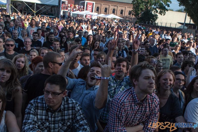 Męskie Granie 2013 (Kim Nowak) - Poznań 10.08.2013 r.  Foto: LepszyPOZNAN.pl / Paweł Rychter