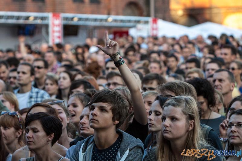 Męskie Granie 2013 (Lao Che) - Poznań 10.08.2013 r.  Foto: LepszyPOZNAN.pl / Paweł Rychter