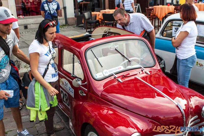 40 Poznański Międzynarodowy Rajd Pojazdów Zabytkowych - Poznań 31.08.2013 r. Foto: LepszyPOZNAN.pl / Paweł Rychter