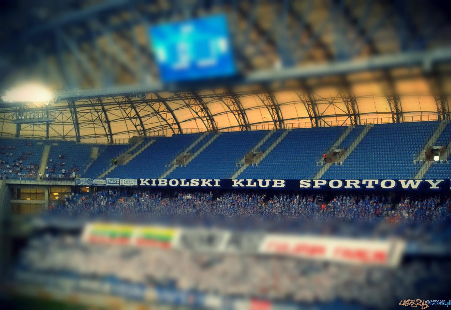 Trybuna nr 2 na Stadionie Miejskim  Foto: lepszyPOZNAN.pl / gsm