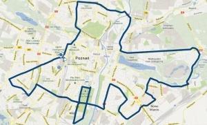 Trasa 14. Poznań Maratonu Foto: POSIR