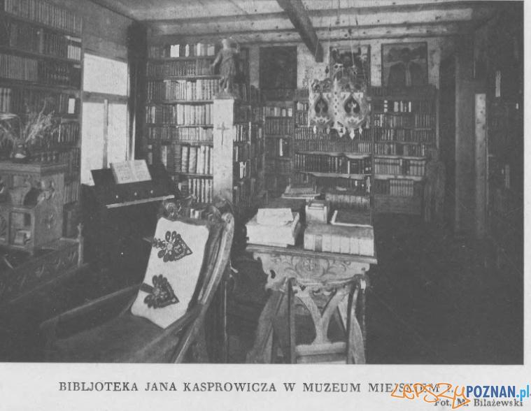 Biblioteka Kasprowicza w Poznaniu Foto: Ksiąga pamiątkowa nakładem Magistratu 1930 r