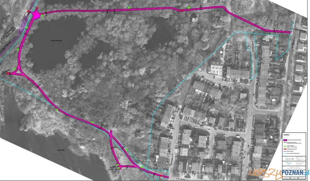 Plan zagospodarowania Glinianek  Foto: Rada Osiedla Świerczewo