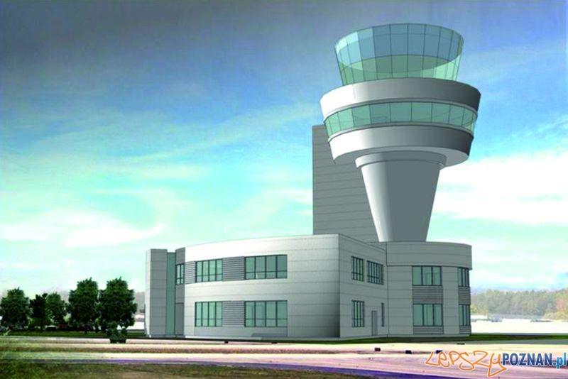 Nowa wieża kontroli lotów na Ławicy Foto: materiały inwestora