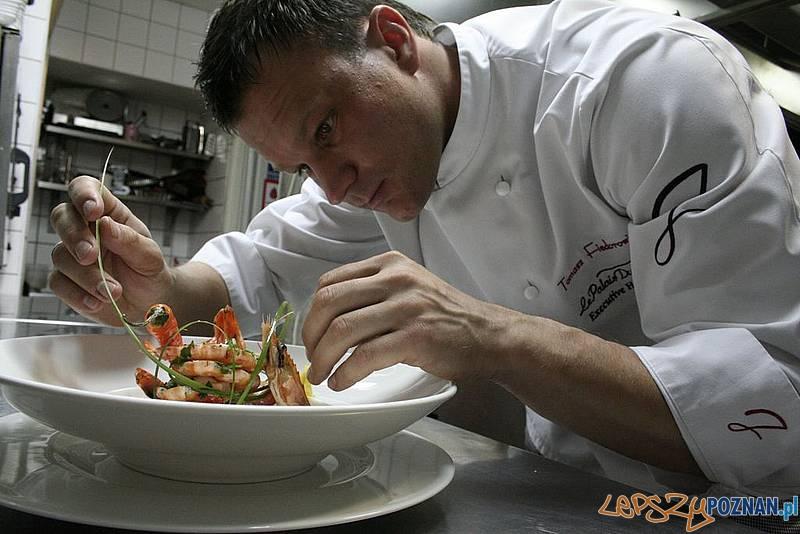 Tomasz Fiedorowicz z Le Palais du Jardin Foto: Kulinarny Poznań