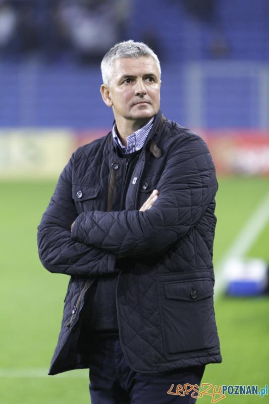 8. kolejka T-Mobile Ekstraklasy - trener Pogoni Szczecin - Dariusz Wdowczyk  Foto: lepszyPOZNAN.pl / Piotr Rychter