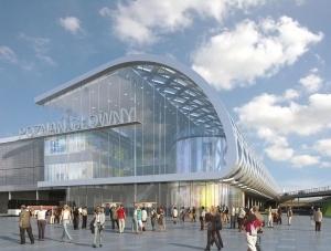 Poznań City Center - wizualizacja Foto: Trigranit