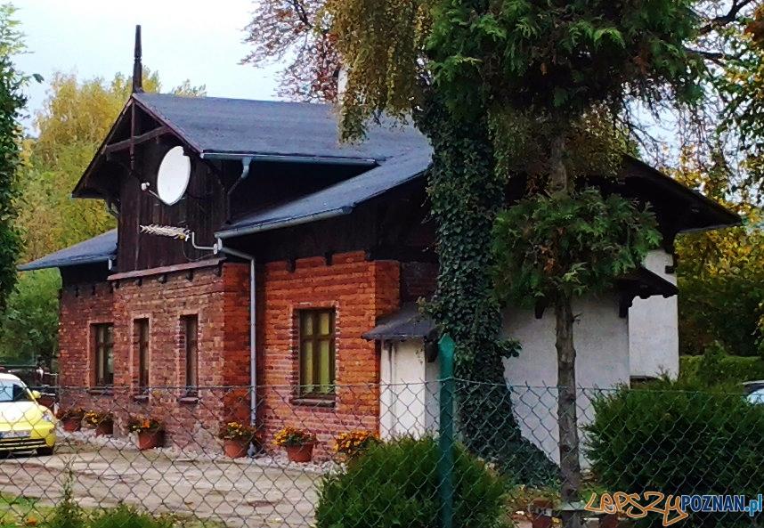 Budynek dawnego dworca Średzkiej Kolei Powiatowej - ul. Folwarczna