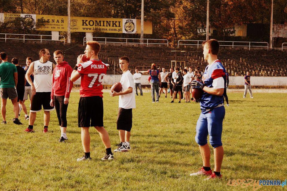 Rekrutacja na stadionie Olimpii  Foto: Joanna Śmiglewska