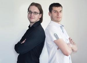 Daniel Mendalka i Piotr Machowski