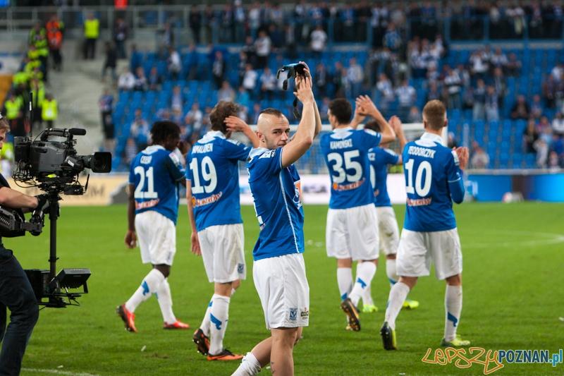 13. kolejka T-Mobile Ekstraklasy Lech Poznań - Legia Warszawa  Foto: lepszyPOZNAN.pl / Piotr Rychter